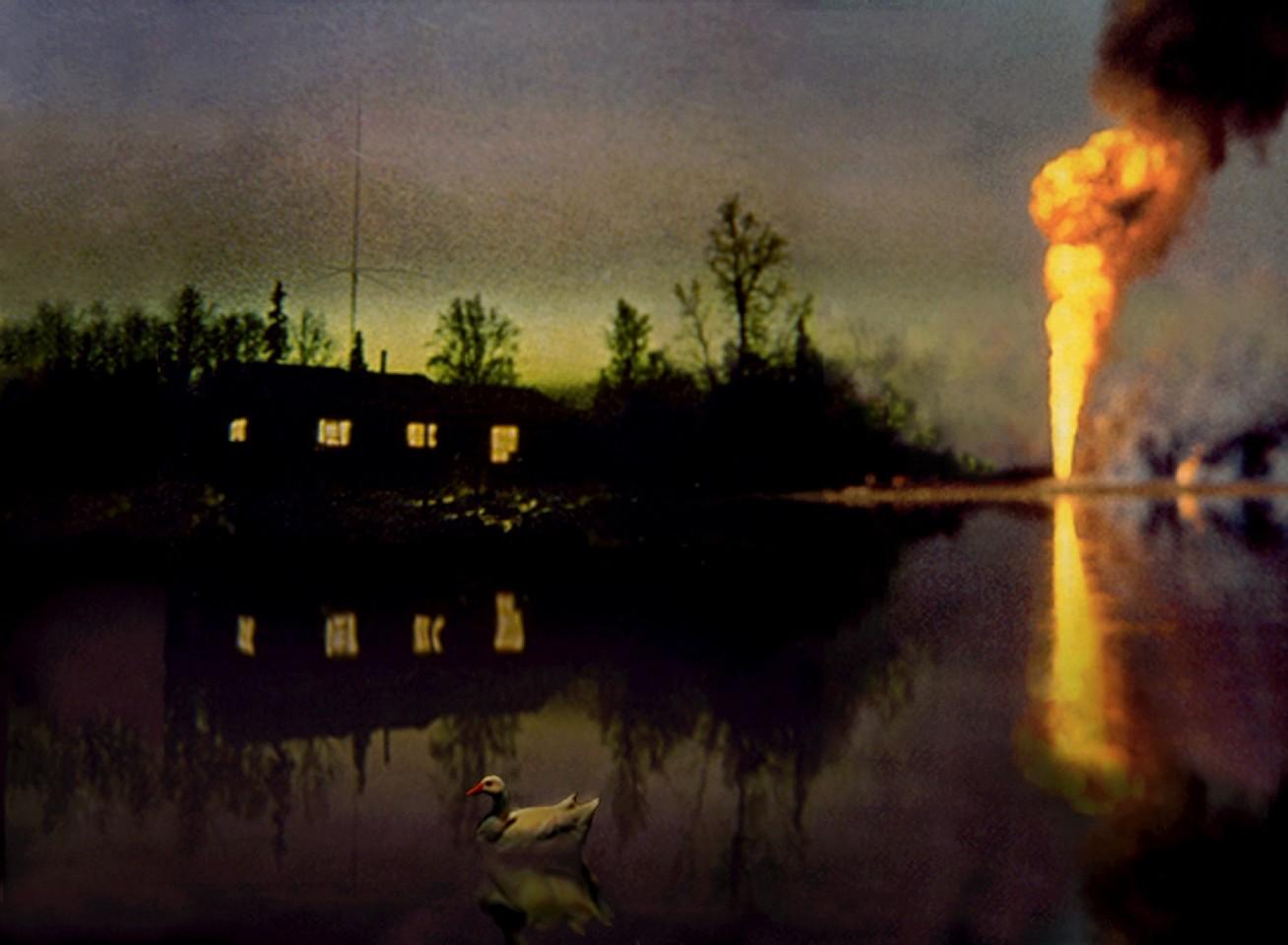 Oliver Wasow, Duck Pond, Arkansas 1996, Archival inkjet