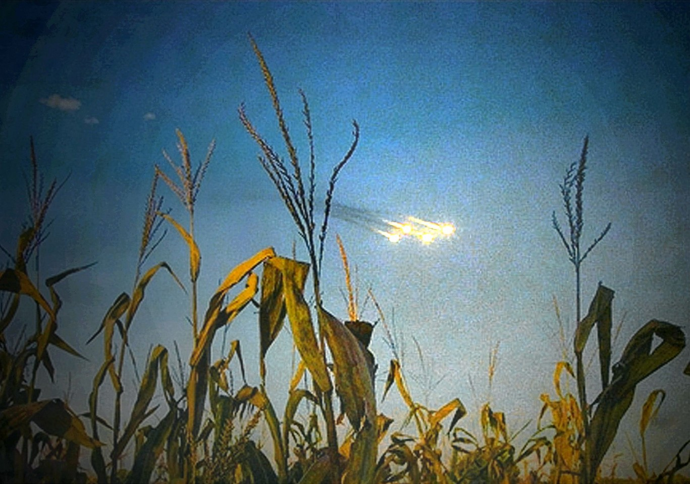 Oliver Wasow, Field and Lights 2009, Archival inkjet