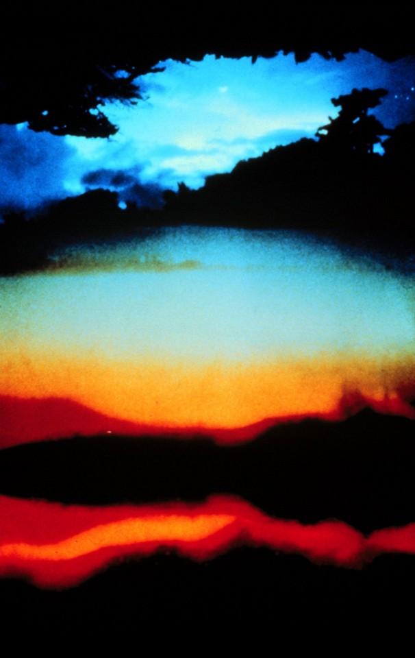Oliver Wasow, Flow 2 1985, Cibachrome