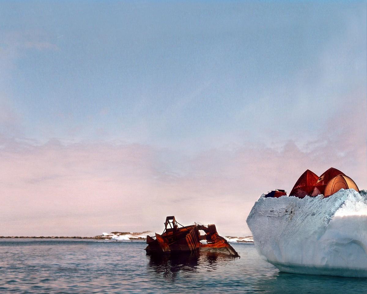 Oliver Wasow, McMurdo Station 2000, Archival inkjet