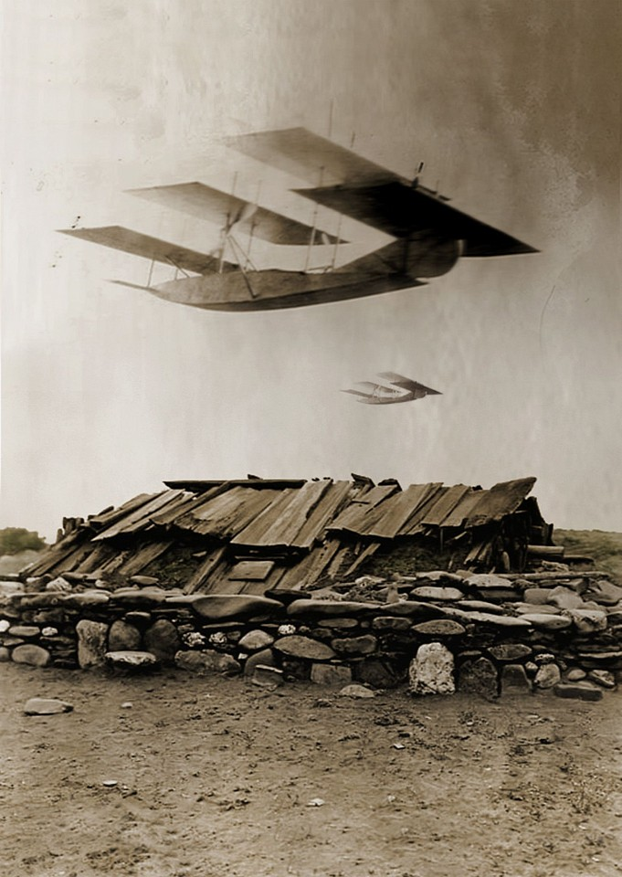 Oliver Wasow, Planes Over Sweat House 2009, Archival inkjet