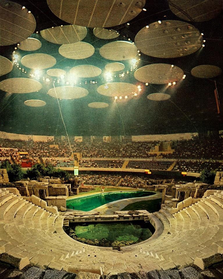 Oliver Wasow, Tofig Bakhramov Stadium, Azerbaijan 2000, Archival inkjet