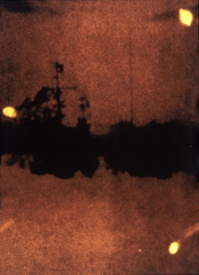 Oliver Wasow, Three Orbs 1986, Cibachrome