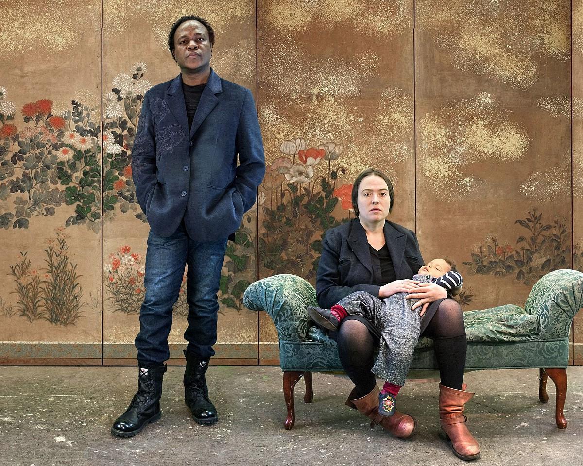 Oliver Wasow, Uche, Fiona and Sula 2014, Archival inkjet
