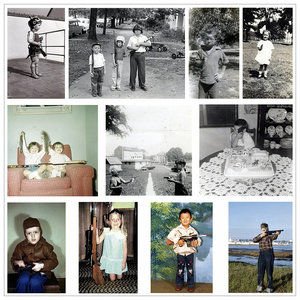 Oliver Wasow, Children with Guns Found photographs