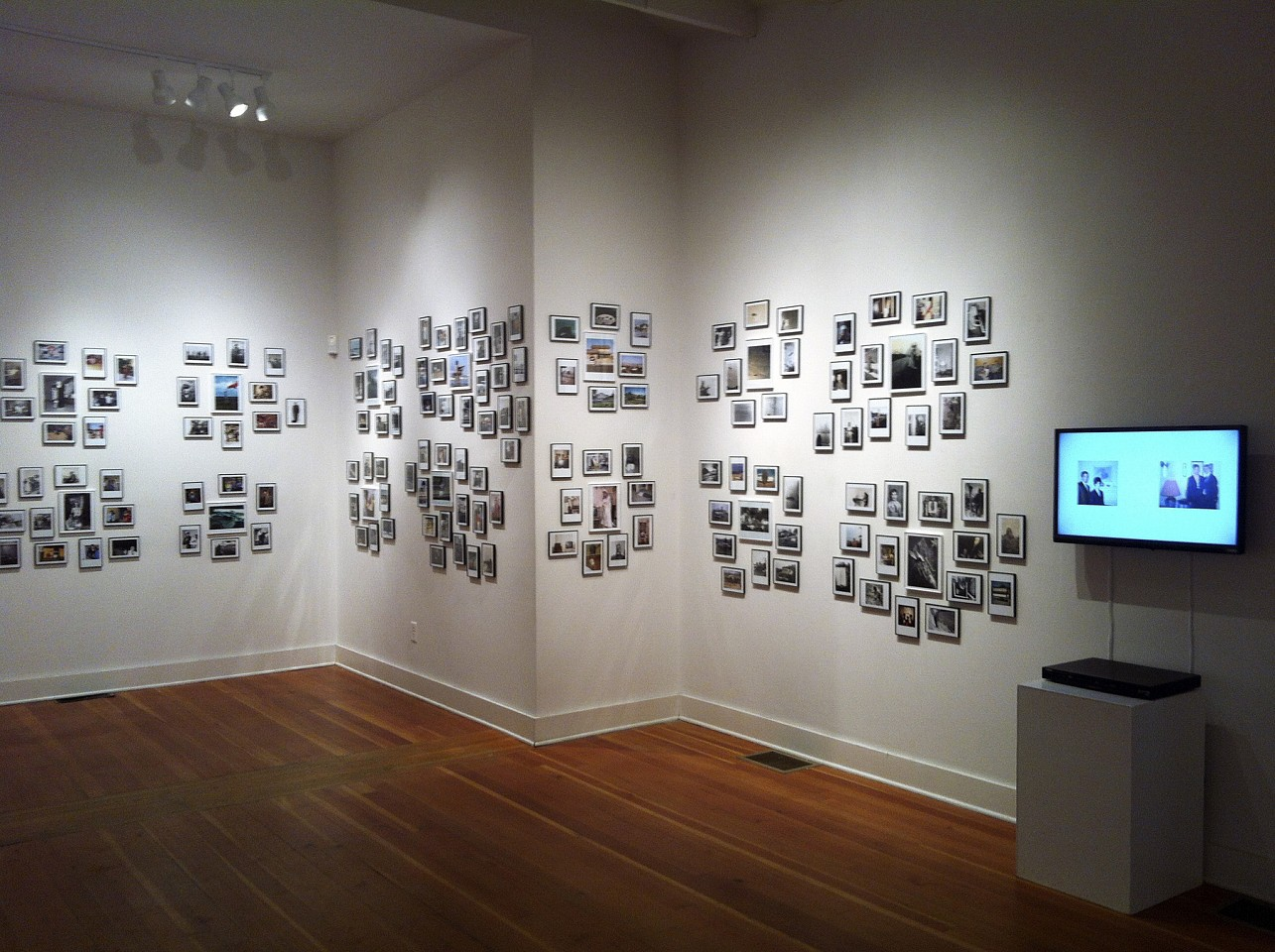 Oliver Wasow, Byrdcliffe Guild Woodstock, New York (installation view) Found photographs