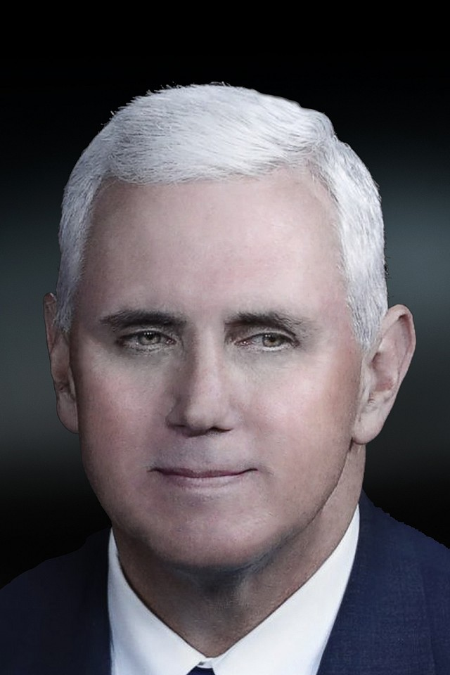 Oliver Wasow, Mike Pence 2017, Archival inkjet