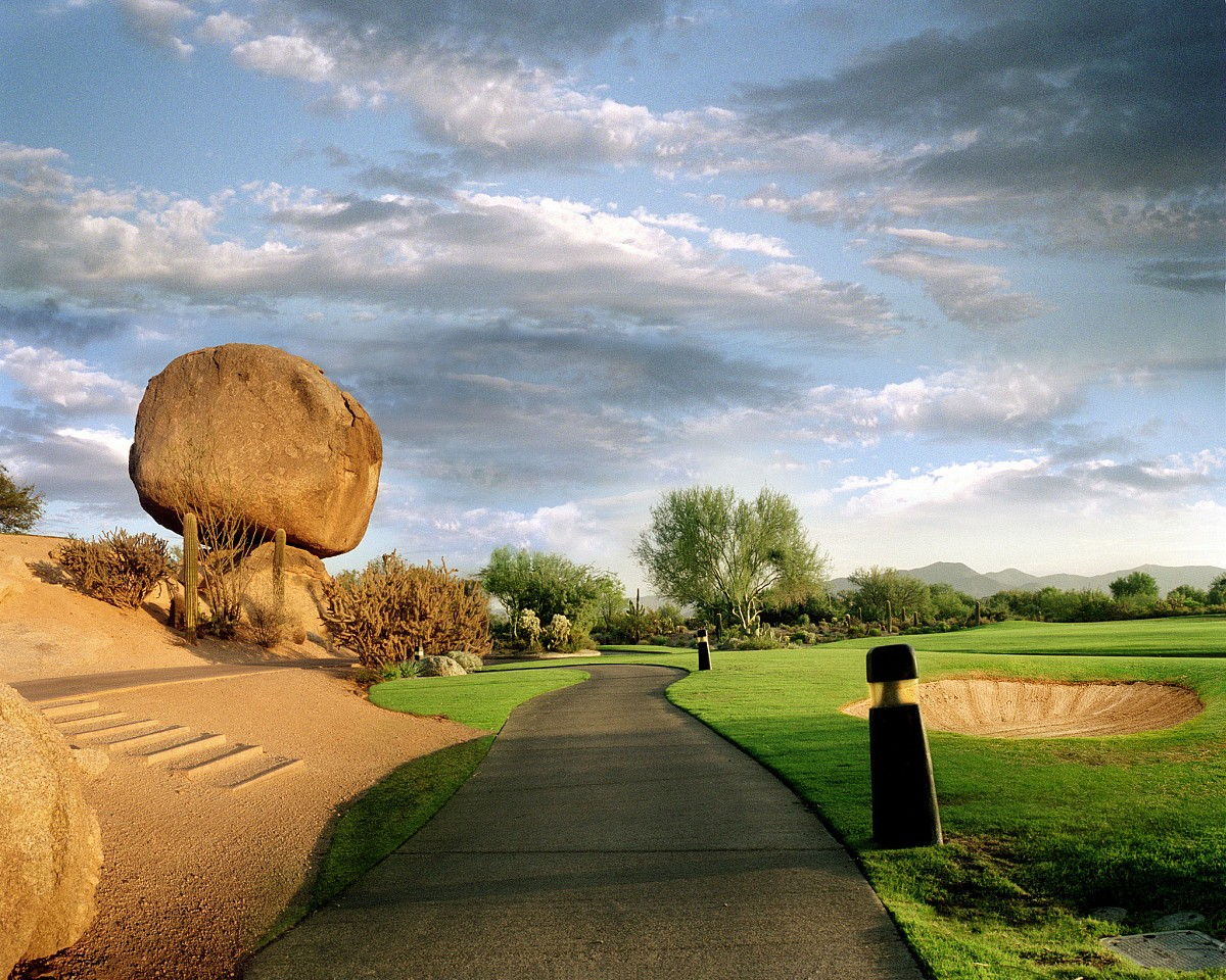 Oliver Wasow, Boulders Golf Course 2002, Digital Inkjet