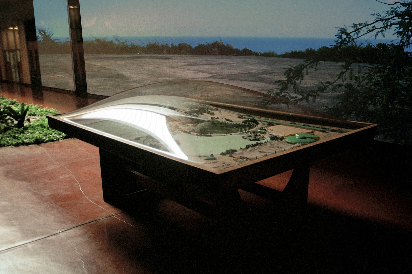 Oliver Wasow, Marin County Convention Center Model 2001, Archival inkjet
